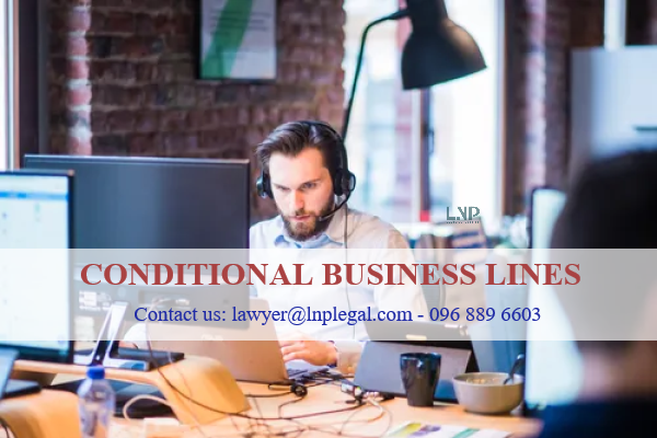 conditional business lines