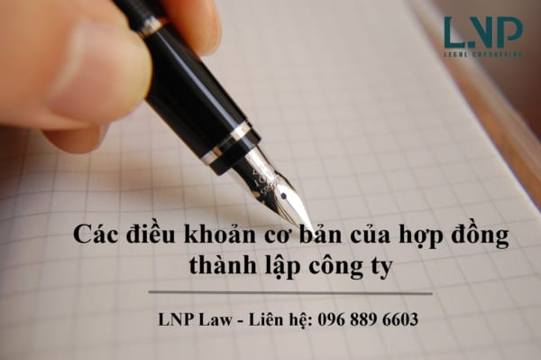 hop dong thanh lap cong ty